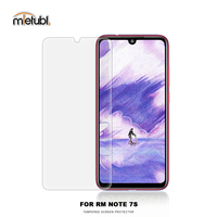 New model mobile phones clear tempered glass screen protector for Redmi Note 7S