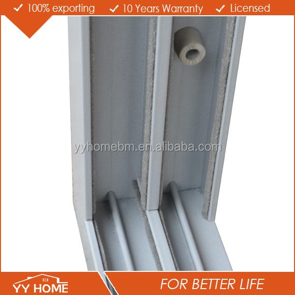 Modernes haus design aluminium doppelt gehärtetem glas balkon ...