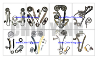 Engine Timing Chain Kit Tensioner For Mini Clubman Cooper R55 R56 9HZ Timing Chain Kit Set