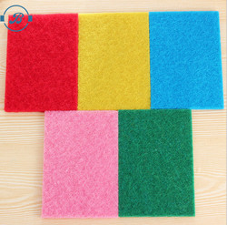 Lot of 10 Multi Color Kitchen Cleaning Scrubber Scouring Pad