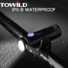 Aluminum customized mini DEC led light for bike front light with 500lumens and IPX-6 waterproof