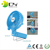 Air Conditioned Portable Newest 18650 lithium battery Handheld usb mini rechargeable fan with LED light