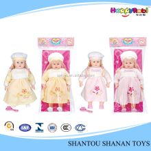 Hot saling children toy lovely plastic mini baby dolls
