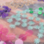 Neues Design 5 mm Multi Color Polyester Organza Stickerei Maschenstoff