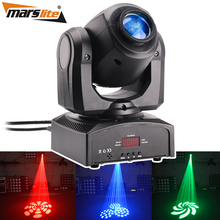 2019 ปาร์ตี้ดิสโก้ Dj Light Mini Beam Gobo Projector DMX 10 w Led Spot Spot Moving Head Light