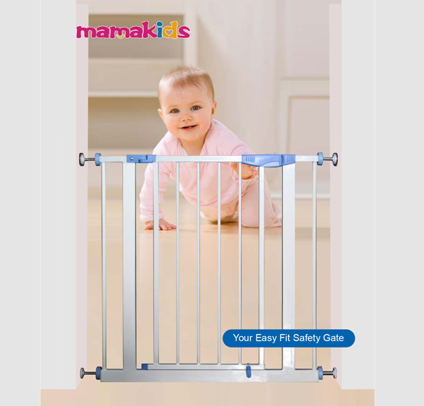 Metal Baby Safety Gate For Door For Stairs Useful Kids