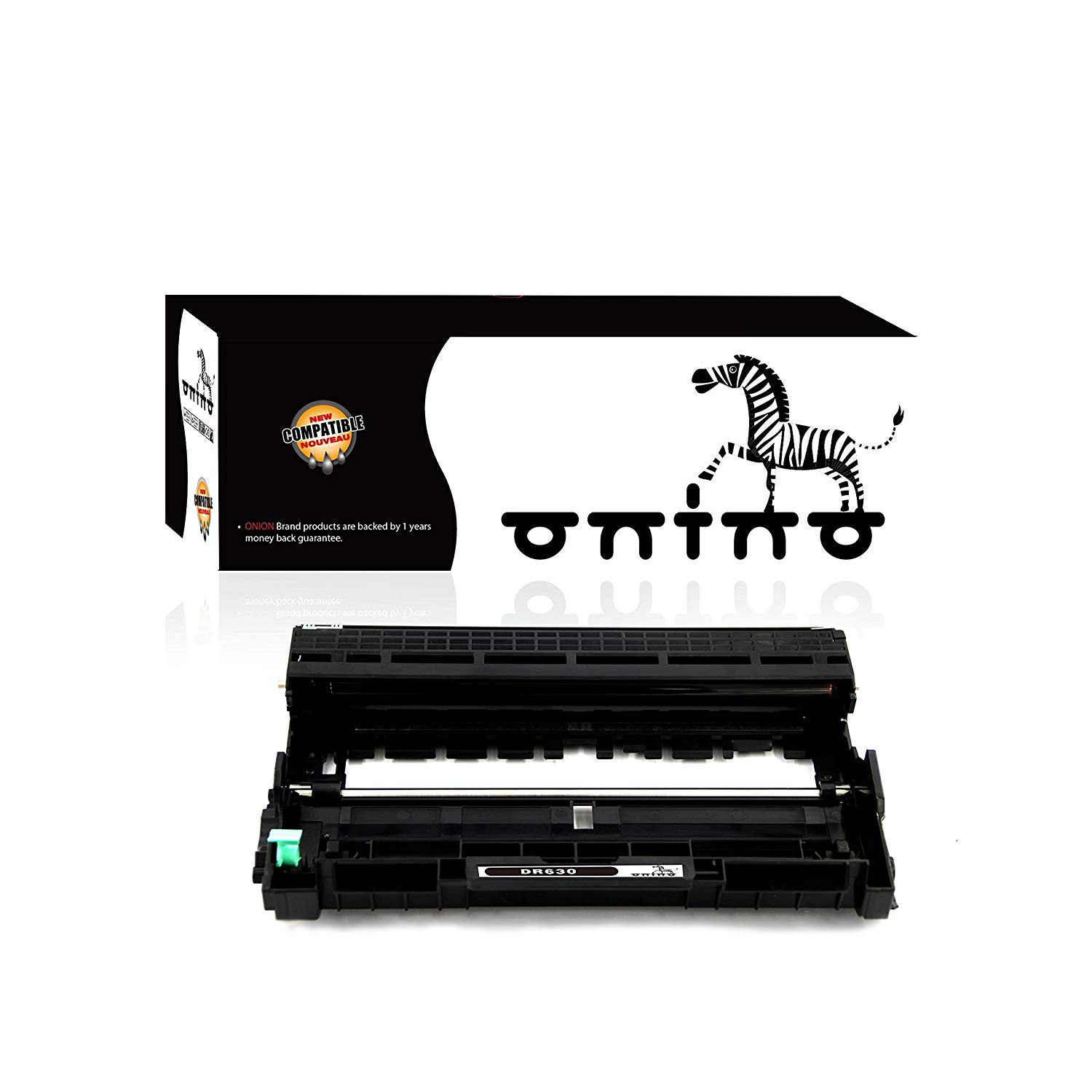 onino Compatible Brother DR630 Drum Unit Replacement for HL-L2340DW,HL-L2380DW,HL-L2300D,HL-L2360DW,DCP-L2520DW,DCP-L2540DW,MFC-L2720DW,MFC-L2740DW Black