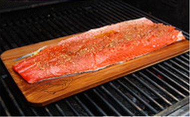 Grilled Bbq Western Cedar Plank Recipe Fish On Planked How 2016