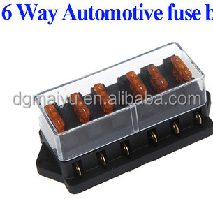Universal Car Truck Vehicle 6 Way Circuit_350x350 universal car truck vehicle 6 way circuit automotive middle sized mini blade fuse block at soozxer.org