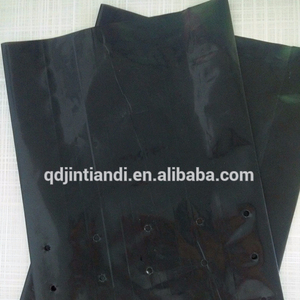 JTD manufacturer wholesale custom black plastic poly trees planting plastic bags
