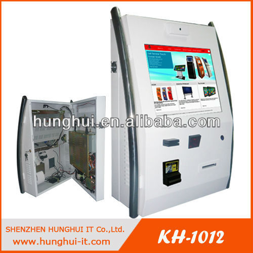 Stainless Steel Wall Mounted Internet Kiosk