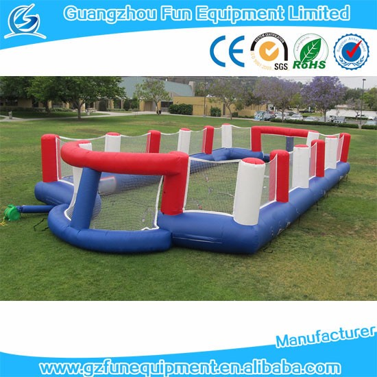 hot selling inflatable soccer ball pitch football arena games inflatable  soccer pitch