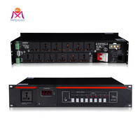 Audio 12 Channel power sequencer for stage audio equipment