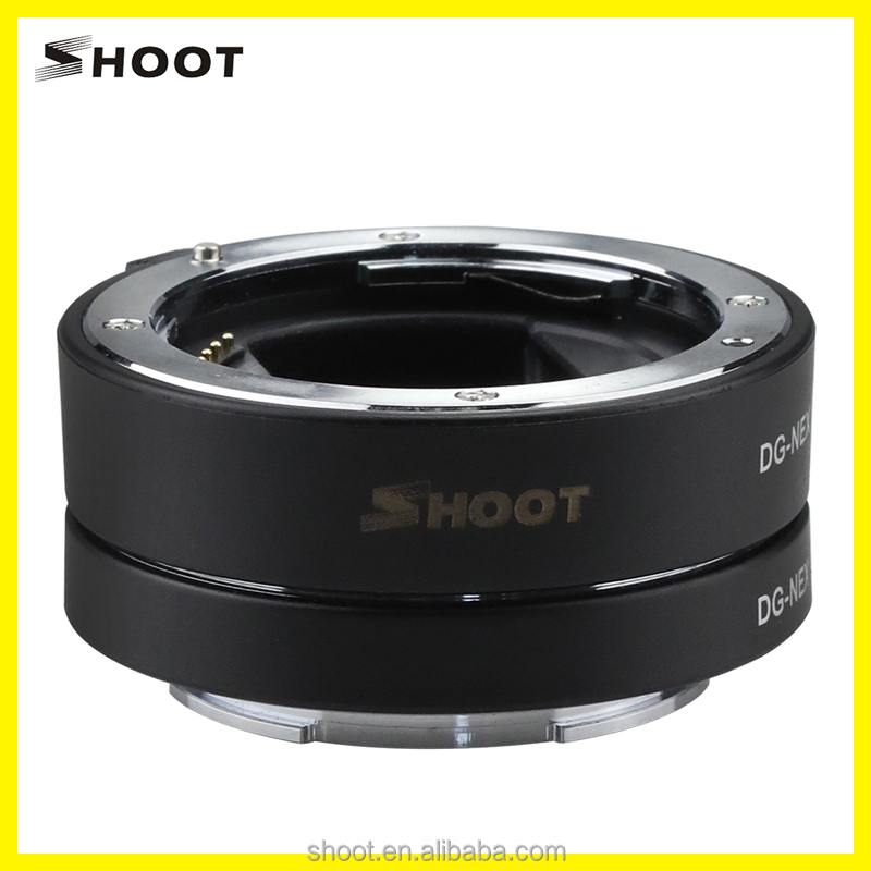 Metal AF autofocus Macro Extension Tube Set 10mm & 16mm voor Sony Lens