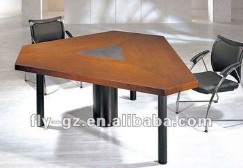small triangle conference table negotiation desk small meeting desk - Small Conference Table