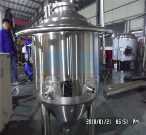 UP To 0.4UM Customized 300l Yeast Production Equipment , Beer Fermentation Tank Used