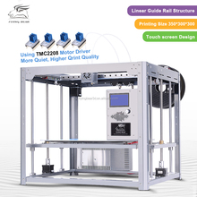 2017 New Upgraded Flyingbear Tornado 3d Printer Larger Printing area Full metal Dual extruder 3D Printer