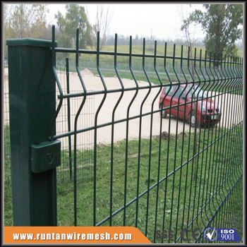 3d Pvc Coated Welded Wire Mesh Fence Panel - Buy Fence Panl,Pvc ...