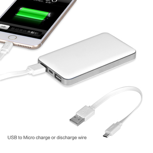 MIQ ultra thin portable phone charger public cell phone charger power bank