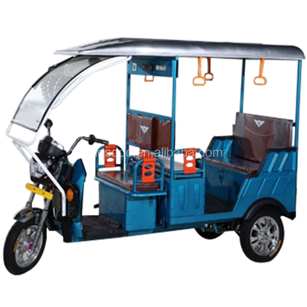 2018 new design battery operated electric auto rickshaw sell to india