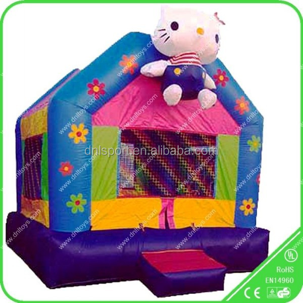 Good Quality PVC indoor girl lovely inflatable bouncer jumping for sale