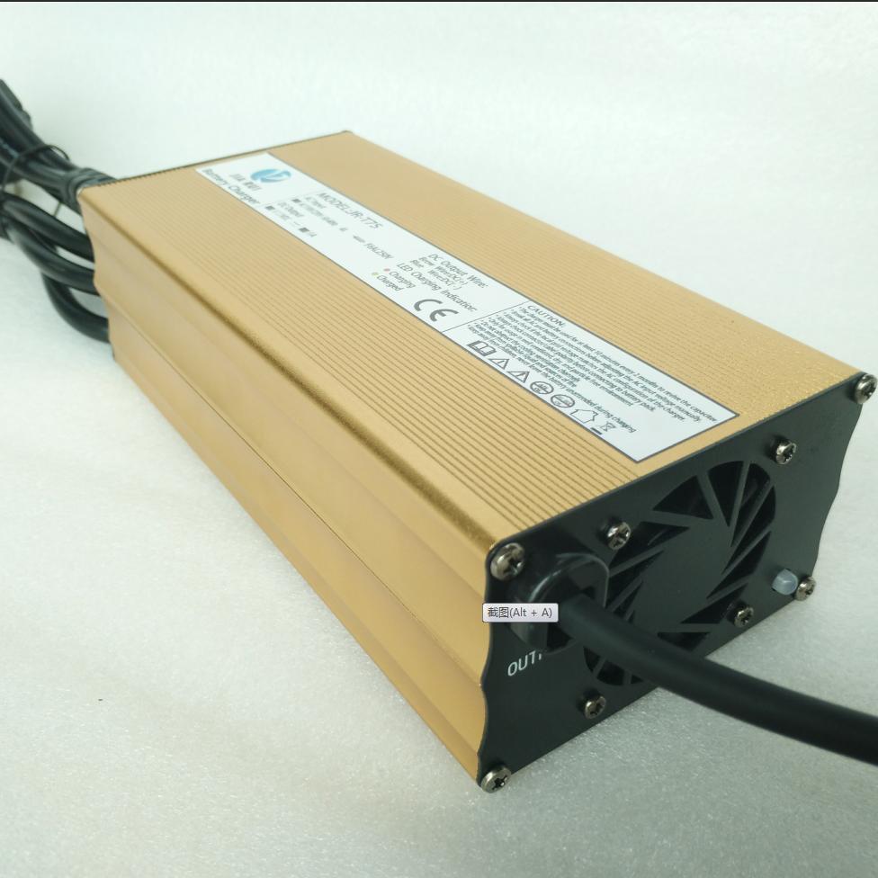 New product 18650 battery charger 12V24V36V48V60V CE CB KC PSE, Blue;black;silver