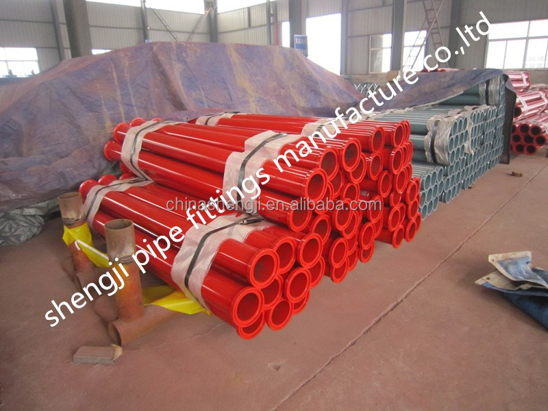 ALLIANCE DN125 5'' concrete pump pipe with SK collar
