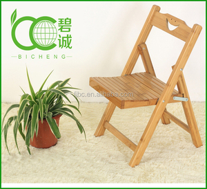 Folding Manufacturer living room furniture bamboo chair bamboo kids chair