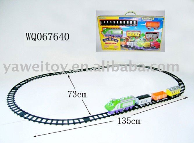 B/O toy railcar for kids