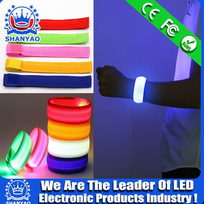 Hot Selling Wholesale LED Wristband For Promotion Gift Or Party