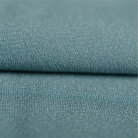 100D 4 way stretch 96 polyester 4 spandex moss crepe fabric for women dress