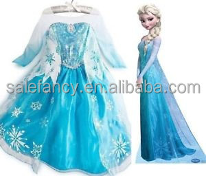 Sweet snow queen frozen fever dress snow queen snow white costume dress cartoon QKC-1982  sc 1 st  Alibaba & Sweet Snow Queen Frozen Fever Dress Snow Queen Snow White Costume ...