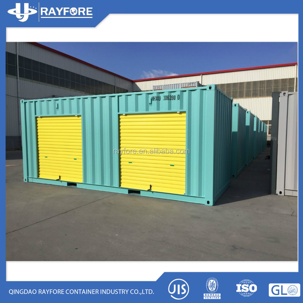 Roller Door Storage Container 20ft Side Open Storage Container Buy