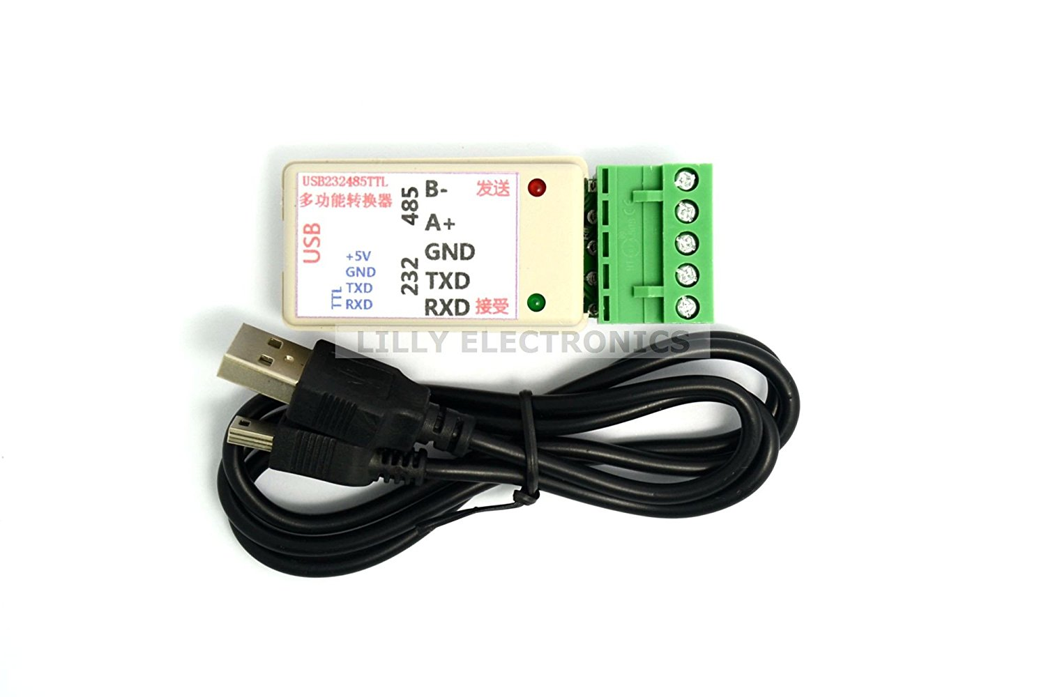 Cheap 232 To 485 Converter Find Deals On Line Wire Ethernet Rs485 Schematic Get Quotations Q Baihe Ppsen 3 In 1 Usb Rs232