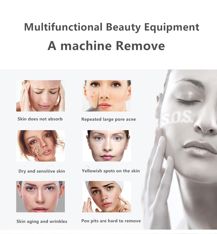 9 in 1 skin care products face machine multi-functional hydra personal salon beauty equipment