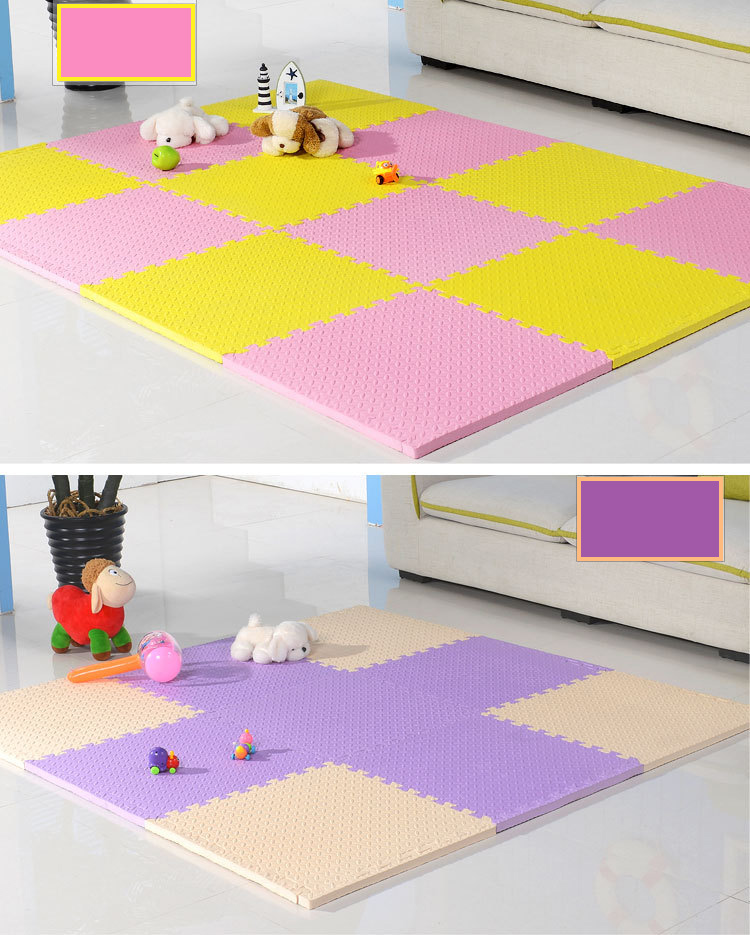 Eco-Friendly Non- Toxic Eva Jigsaw Puzzle Mat Floor Mat With  60*60*1.2cm
