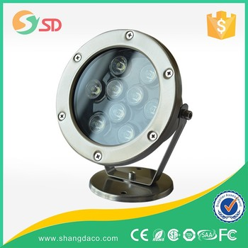 Ss316 Ip68 12w Rgb Led Underwater Light For Fountains,Led Pool ...
