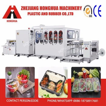 Honghua Full Automatic Plastic Egg tray making machine