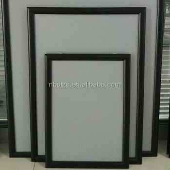 advertising display clip frameceiling hanging aluminum poster frame board 11x17 - Window Clip Frame