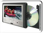 Coby Tablet Portable DVD Player With 7 Inch LCD Screen