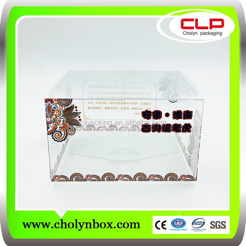 New products folding plastic dvd box set packaging