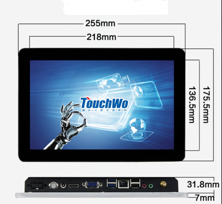 "13.3 ""Touch all in one tablet pc mini computador"