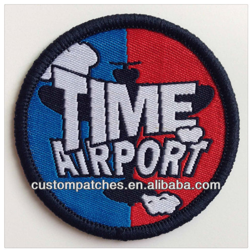 2014 New Hot Woven Custom Patches in wholesale