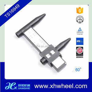 Wheel Bolt Pattern Measuring Gauge Tool Hole 4 5 6 8 PCD Gauge Ruler