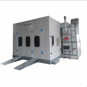 Customized voltage automatic used spray booth for sale