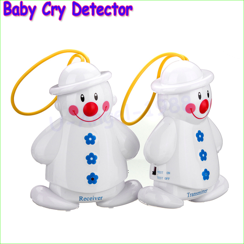 Lovely New Design Snowman Wireless Baby Cry Detector baby monitors baby crying alarm Monitor Watcher Wholesale