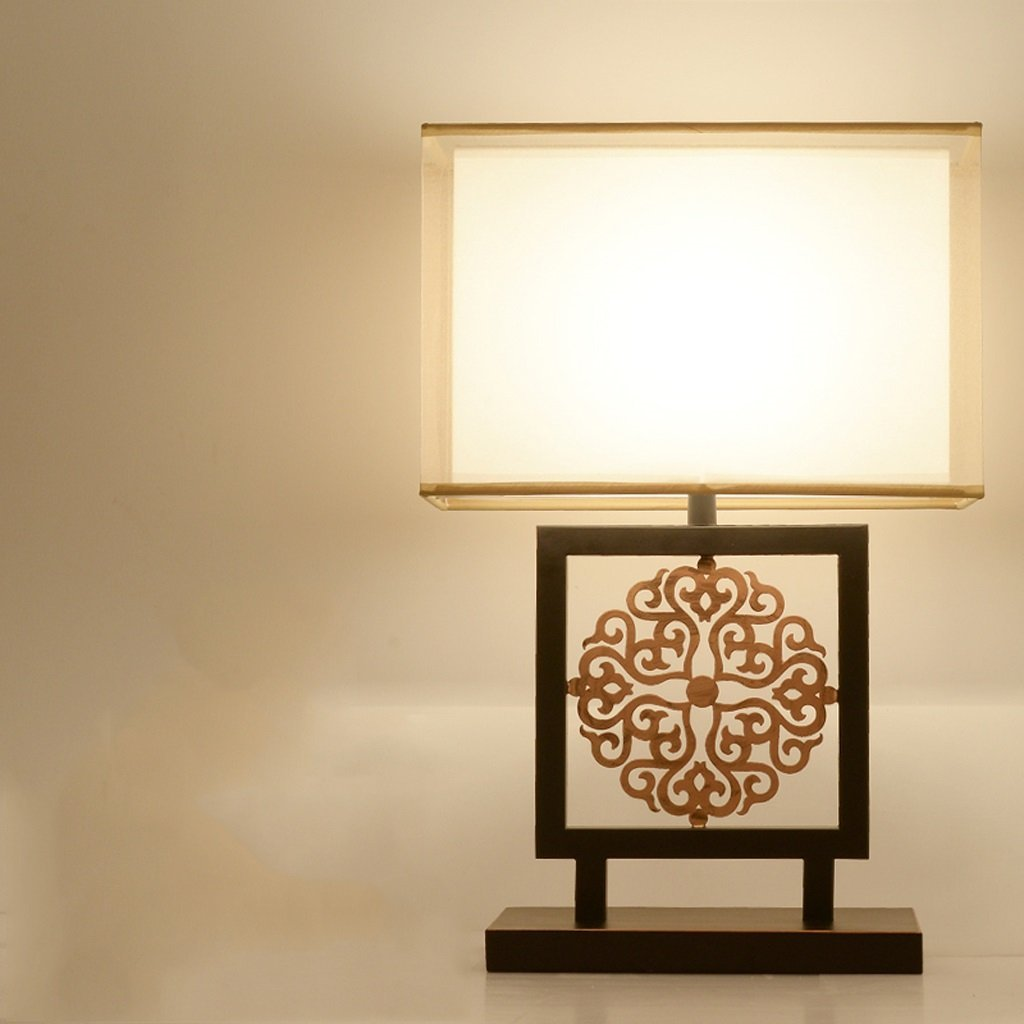 WENBO HOME- Creative Modern Lamp Bedroom Bedside Lamp Antique Study Classical Decorative Table Lamp -Desktop lamp