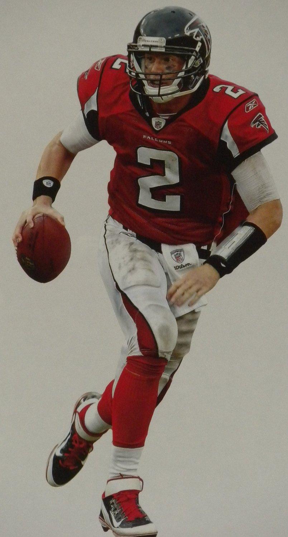 "Matt Ryan Mini FATHEAD Atlanta Falcons Official NFL Vinyl Wall Graphic 7""x5"" INCH"