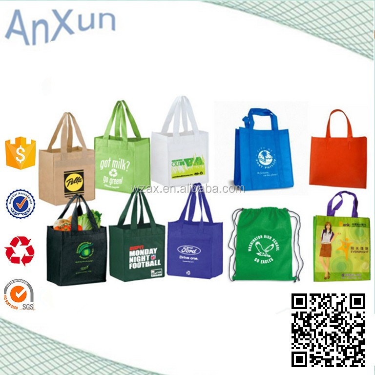 Environmental pp nonwoven bag promotional shopping bag