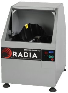 RADIA, 1015 Speed Demon SQ, One Gallon Paint Mixer, Square Can, Push Button Timer
